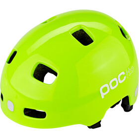 POC POCito Crane Casco Bambino, fluorescent yellow/green